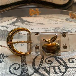 Clear belt